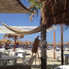 Photo taken at Villa Rosa - Bar Beach & Restaurant by Ilaria B. on 7/14/2012