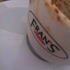 Photo taken at Fran's Café by Fleury R. on 7/8/2012
