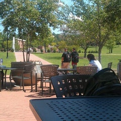 Photo taken at Courtyard Dining Hall by Lindsey R. on 8/27/2012