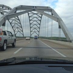 Photo taken at Luther Draffen Bridge by Craig on 4/21/2012