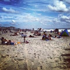 Photo taken at Belmar Beach by Kellie B. on 7/21/2012