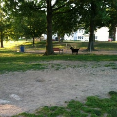 Photo taken at Medina Dog Park by Jennifer on 6/23/2012