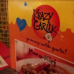 Photo taken at Krazy Garlik by Ricco on 2/19/2012