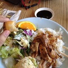 Photo taken at Gombei Bento by Aaron E. on 5/21/2012