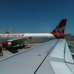 Photo taken at Virgin America by Lakegan H. on 6/3/2012