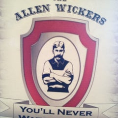 Photo taken at The Allen Wickers Sports Pub & Grill by Pita P. on 3/3/2012