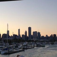 Photo taken at Burnham Harbor M dock by James B. on 6/6/2012