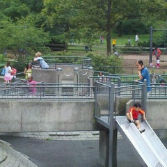 Photo taken at Heckscher Playground by Herb B. on 8/18/2012