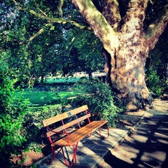 Photo taken at Fulham Palace Gardens by Jamie M. on 8/7/2012
