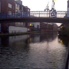 Photo taken at Grand Union Canal -  Maida Hill by Mike K. on 3/15/2012