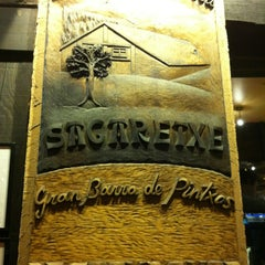Photo taken at Sagaretxe by R G. on 3/28/2012