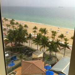Photo taken at Courtyard by Marriott Fort Lauderdale Beach by Al M. on 6/7/2012