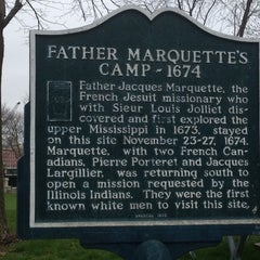 Photo taken at Pere Marquette Park by Ed W. on 3/31/2012