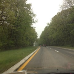 Photo taken at Palisades Interstate Parkway by Ashley C. on 5/3/2012