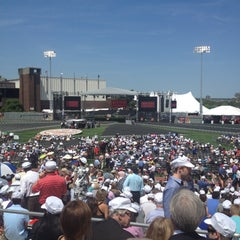 Photo taken at Nickerson Field by Jason G. on 5/20/2012