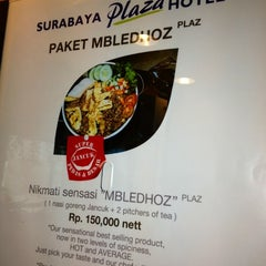 Photo taken at Surabaya Plaza Hotel by Eshape B. on 6/24/2012