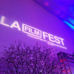 Photo taken at Los Angeles Film Festival by trice the afrikanbuttafly on 6/18/2012