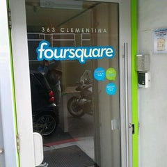 Photo taken at Foursquare SF by Flavio C. on 4/16/2012