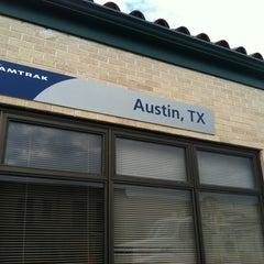 Photo taken at Austin Train Station - Amtrak (AUS) by Hollin L. on 6/7/2012