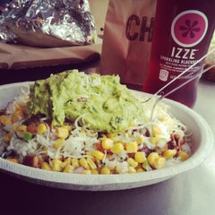 Photo taken at Chipotle Mexican Grill by Brittany W. on 5/3/2012
