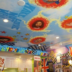 Photo taken at Dave's Cosmic Subs by Steve C. on 8/15/2012