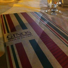 Photo taken at Ginos by Eduardo L. on 7/6/2012