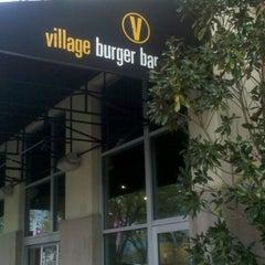 Photo taken at Village Burger Bar by Kathy C. on 3/15/2012