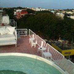 Photo taken at Hotel Basico by Art Brandom on 2/14/2012
