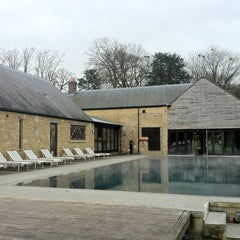 Photo taken at Babington House by Steven G. on 3/31/2012