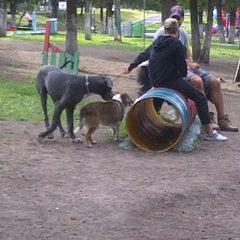 Photo taken at Parque Teca by Yereni A. on 8/19/2012