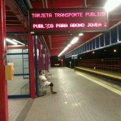 Photo taken at Metro Aluche by Rodolfo C. on 8/11/2012