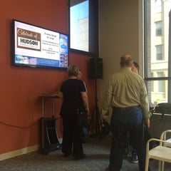 Photo taken at Hudson Business Lounge by Greg B. on 6/9/2015