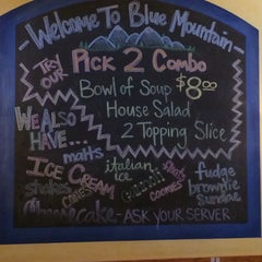 Photo taken at Blue Mountain Pizza by Samuel R. on 3/2/2014