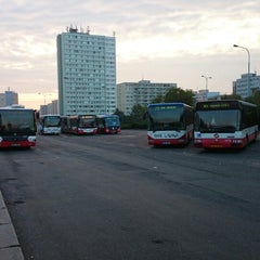 Photo taken at Háje (bus) by Angel on 9/8/2014
