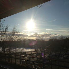 Photo taken at MBTA Malden Center Station by Yifei T. on 2/20/2013