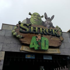 Photo taken at Shrek 4-D by Yifei T. on 1/3/2013