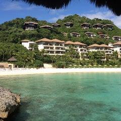 Photo taken at Shangri-La Boracay Resort and Spa by Maricris E. on 5/26/2013