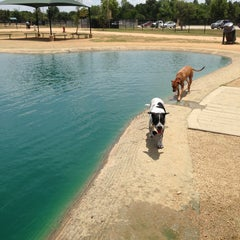 Photo taken at Bill Archer Dog Park by Ernel M. on 8/5/2013