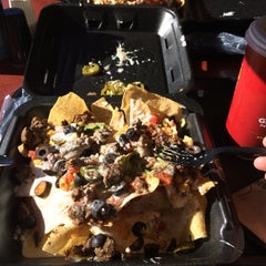 Photo taken at Moe's Southwest Grill by Jackson R. on 11/30/2014