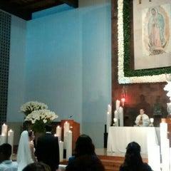 Photo taken at Parroquia De Nuestra Señora De Guadalupe by Maxelli B. on 4/12/2015