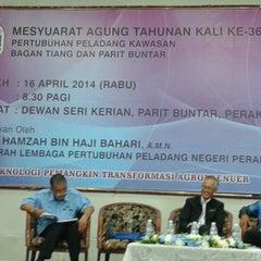 Photo taken at Majlis Daerah Kerian by Meor Ismail T. on 4/16/2014