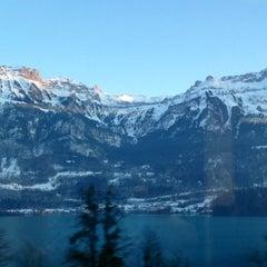 Photo taken at Harbour Interlaken Ost by Nicolas B. on 1/26/2013