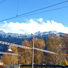 Photo taken at Harbour Interlaken Ost by Nicolas B. on 11/9/2013