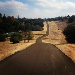 Photo taken at Stanford Dish Trail by Jessamyn L. on 10/19/2012