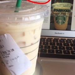 Photo taken at Starbucks by Tera D. on 8/20/2015