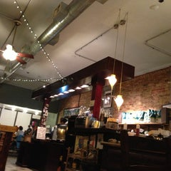 Photo taken at Dollop Coffee & Tea Co. by Jason P. on 10/30/2012