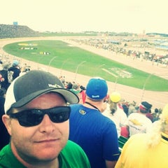Photo taken at Kansas Speedway by Dallas T. on 5/9/2015