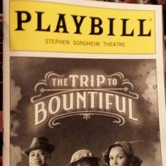 Photo taken at Stephen Sondheim Theatre by Christen R. - DivasandDorks.com on 6/9/2013