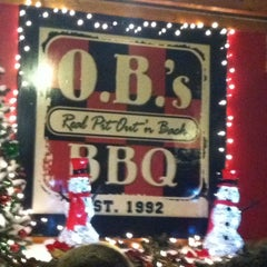 Photo taken at O.B.'s BBQ by Jay S. on 12/22/2013