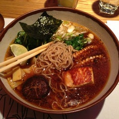 Photo taken at Wagamama by Ari J. on 2/17/2013